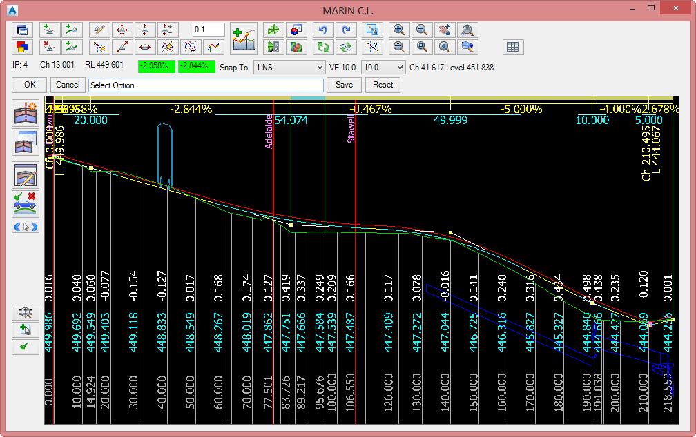 VGE - Vertical Grading Editor